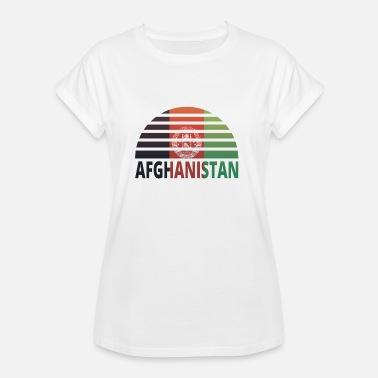 Sunburst Sunset Sunburst home home roots AFGHANISTAN home - Women's Oversize T-Shirt