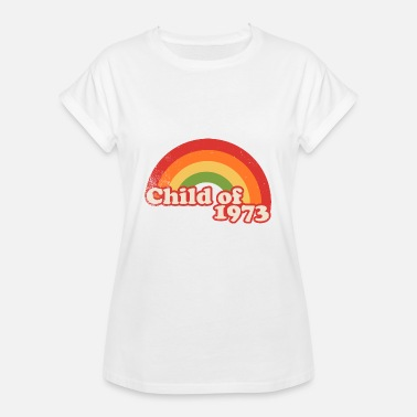 Born In 1973 child of 1973 - Women's Oversize T-Shirt