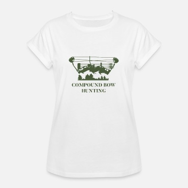 Compound Bow Jaktskjorta - Compound Bow - Oversize-T-shirt dam