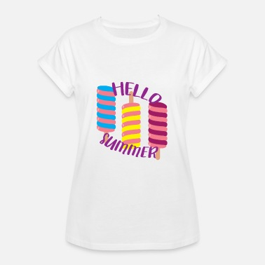 Twister Popsicles Twister Hello Summer - Camiseta holgada de mujer