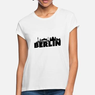 Skyline Of Berlin Berlin skyline - Women's Loose Fit T-Shirt