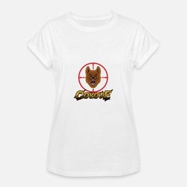 Coyote Coyote Hunting - Vrouwen oversize T-shirt