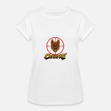 Coyote Coyote Jagt - Dame oversize T-shirt
