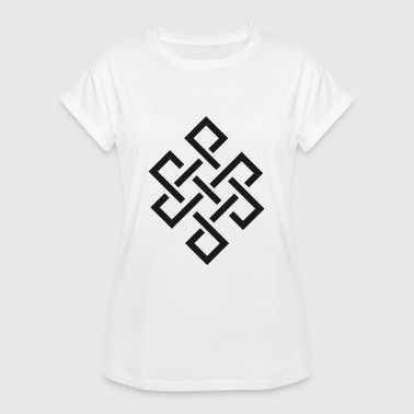 Endless Buddhism Endless knot - Women's Oversize T-Shirt