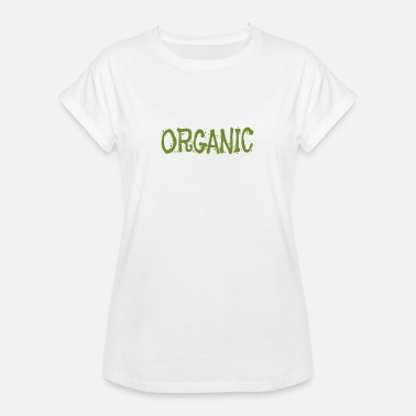 Organic Farming Organic Healthy Foof Organic Farming Real Food Farm to Table - Women's Oversize T-Shirt
