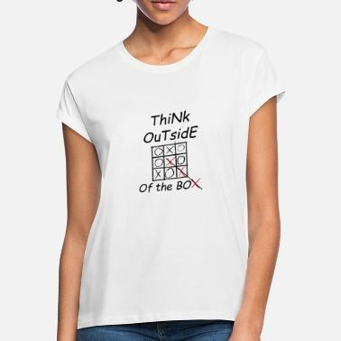 Box Think outside - Women's Loose Fit T-Shirt