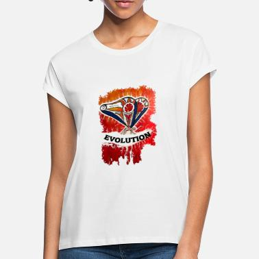 Evolution evolution - Women's Loose Fit T-Shirt