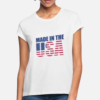 Made in the USA - Women's Loose Fit T-Shirt