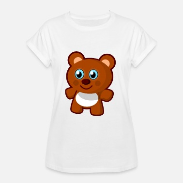 Archie Archi, the teddy bear - Women's Oversize T-Shirt