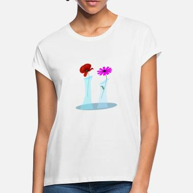 Vase Flowers in the vase. - Women's Loose Fit T-Shirt
