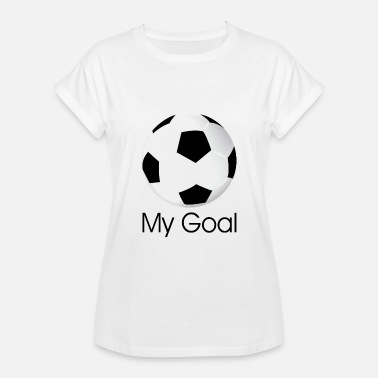 Soccer Ball soccer ball - Women's Oversize T-Shirt