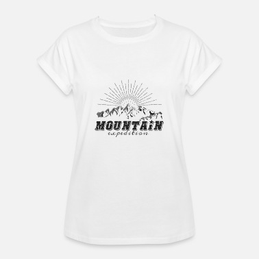 Expedition Mountain Expedition - Frauen Oversize T-Shirt