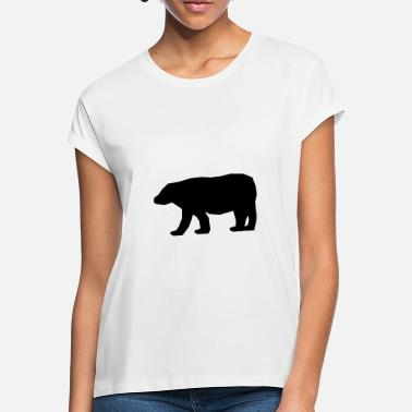 Polar Polar polar bear nature - Women's Loose Fit T-Shirt