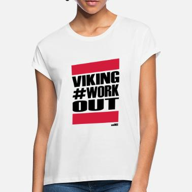 Workout VIKING WORKOUT - Naisten oversized t-paita