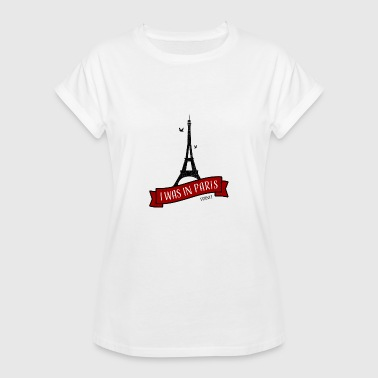 Paris I était à Paris (J'aime Paris) - T-shirt oversize Femme