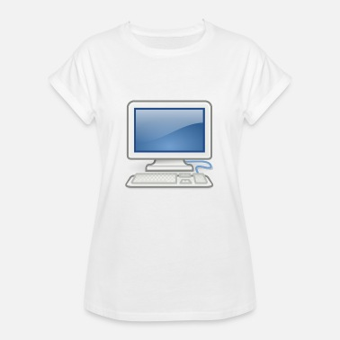Pc fantastisk til pc nerds eller pc i kærlighed - Oversize T-shirt dame