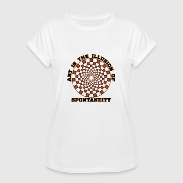 Art illusion spontaneity - Women's Oversize T-Shirt