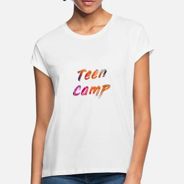 Teen Teen camp - Oversize T-skjorte for kvinner