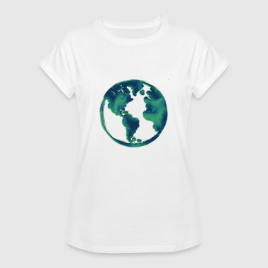 Blue Blue Earth Gift Idea - Women's Oversize T-Shirt