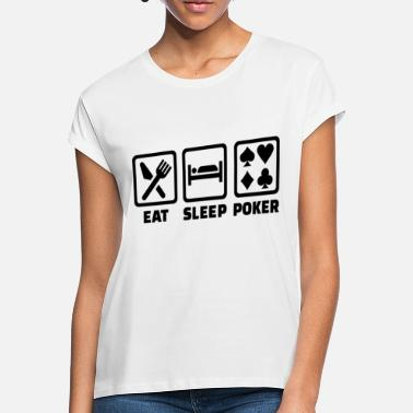 Holdem Eat Sleep Poker Funny Poison Texas Holdem - Women's Loose Fit T-Shirt