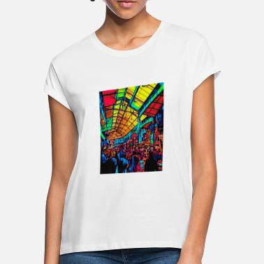 London Abstract Borough Market London Design - Women's Loose Fit T-Shirt