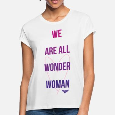Féministe DC Comics We Are All Wonder Woman - T-shirt oversize Femme