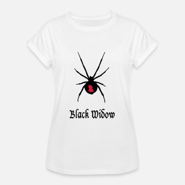 Widower black widow - black widow - Women's Oversize T-Shirt