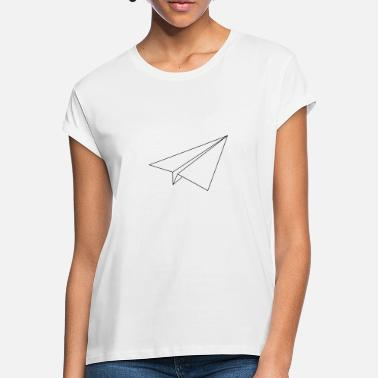 Paper Airplane paper airplane - Women's Loose Fit T-Shirt