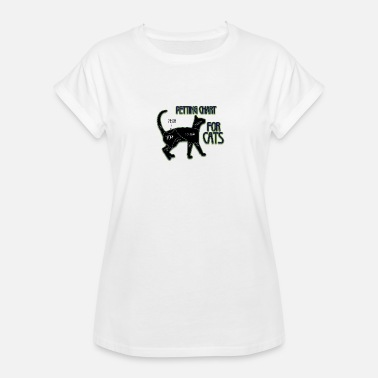 Music Chart colored cats designs chart for cats - Women's Oversize T-Shirt