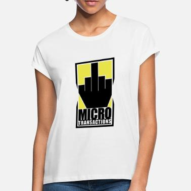 Micro Micro Transactions - Women's Loose Fit T-Shirt