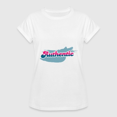 Authentiek authentiek overhemd - Vrouwen oversize T-shirt