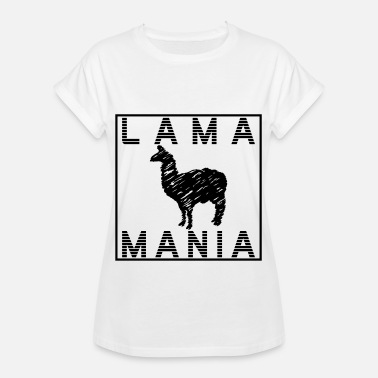 Lame lame - T-shirt oversize Femme