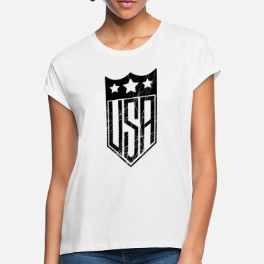 Shield USA Shield - T-shirt oversize Femme