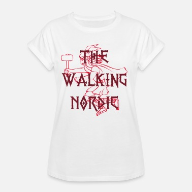 Nordic Walking The Walking Nordic - Vrouwen oversize T-shirt