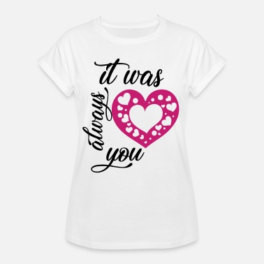Red Hen Night always you - Women's Oversize T-Shirt
