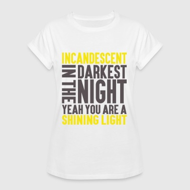 Incandescent #2 - Women's Oversize T-Shirt