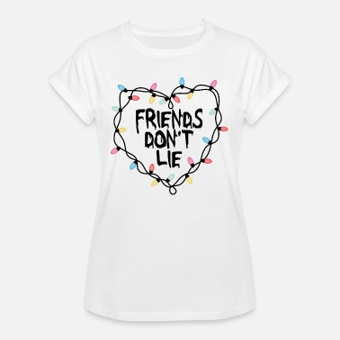 Série Friends Friends don't lie - T-shirt oversize Femme
