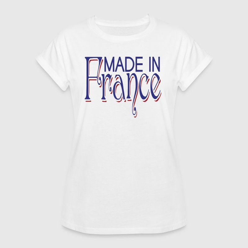 Made in France - T-shirt oversize Femme