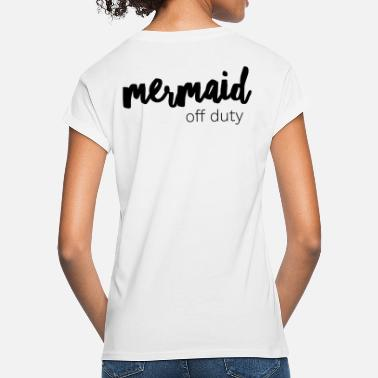 Mermaid off duty - Frauen Oversize T-Shirt