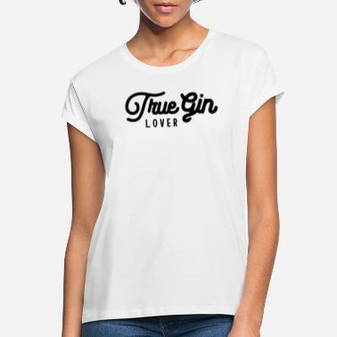 Gin Drink Beverage Gin Lover Gin Gin - Vrouwen oversized T-Shirt