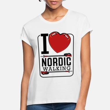 Nordic Nordic Walking - Women's Loose Fit T-Shirt