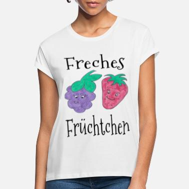 Abstract Cheeky fruit - zomer / trend / cool - Vrouwen oversized T-Shirt