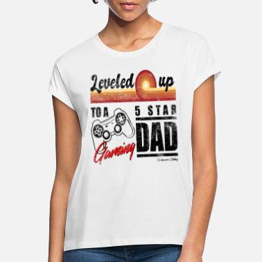 Expectant Dad Gift Gamer Dad - Women's Loose Fit T-Shirt