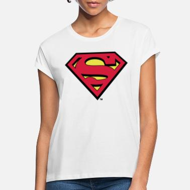 Steelers Tee-shirt Enfant Superman S-Shield - T-shirt oversize Femme