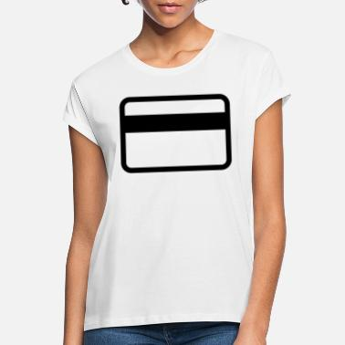 Cards credit card - T-shirt oversize Femme