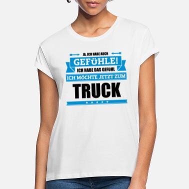 Majestät Truckerin Damen T-Shirt Spruch Job Beruf Arbeit Truck Geschenk Idee Neu