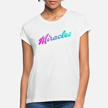 Miracle miracles - T-shirt oversize Femme