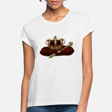 Scepter Kroon en scepter - Vrouwen oversized T-Shirt