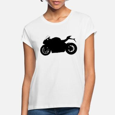 Silhouette sports bike silhouette - Women's Loose Fit T-Shirt