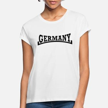 Public Viewing Duitsland Arch Style - Vrouwen oversized T-Shirt